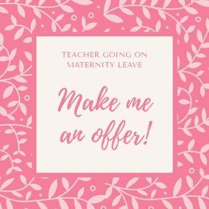 Make me a fair offer!
